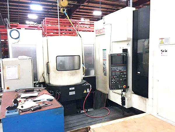 Used Horizontal Machining Center For Sale Mazak HCN-4000 2012 3