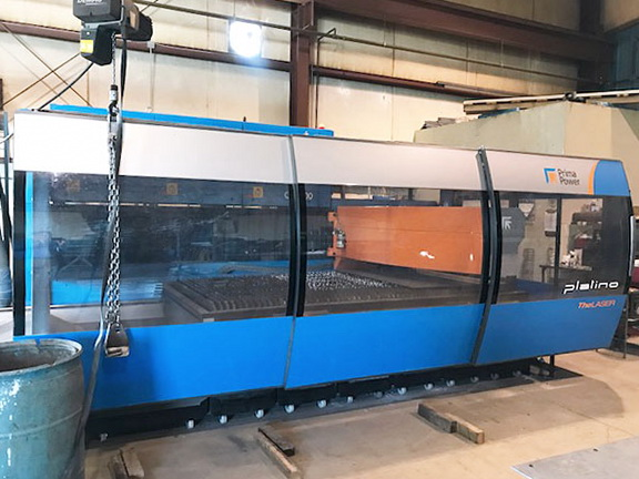 Used Laser Cutting Machine Prima Platino 1530 2012