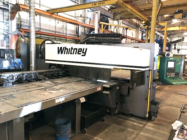 Used Straightside Press  Whitney 3400 XP 2013