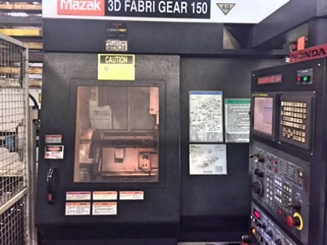 Mazak FabriGear 150 2006 13