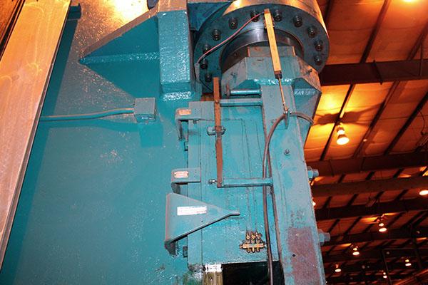 Used Hydraulic Press Brake Verson 1000-HPB-23 1960