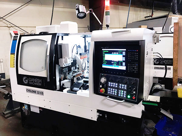 Used CNC Lathe Ganesh Cyclone 32CS 2017