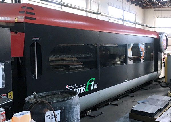 Used Laser Cutting Machine Amada LC3015F1NT 2008