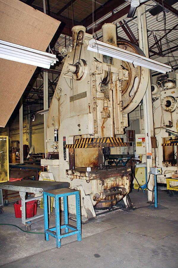 Used OBI Press Clearing 200 1969