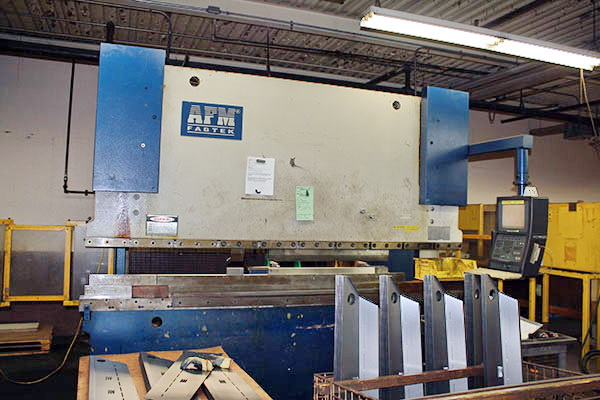 Used Hydraulic Press Brake AFM Fabtek EP10-180 1998
