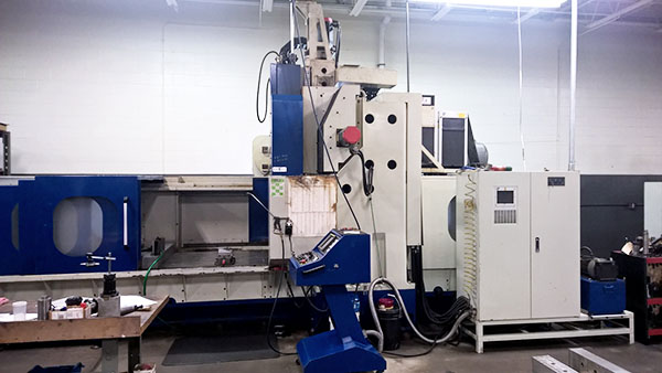 Used Vertical Machining Center Johnford DMC 2100 2000