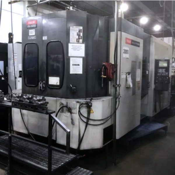 Used Horizontal Machining Center For Sale Mazak FH 6000 2000 1