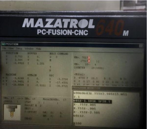 Mazak FH 6000 2000 6