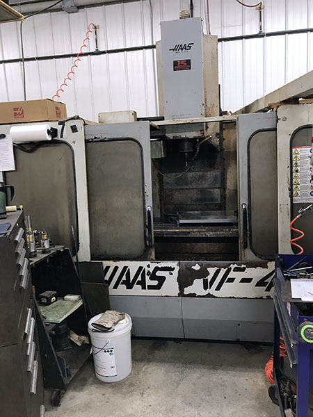 Used Vertical Machining Center For Sale Haas VF-4 1994 6