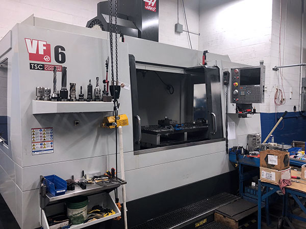 Used Vertical Machining Center For Sale Haas VF-6 2013 3
