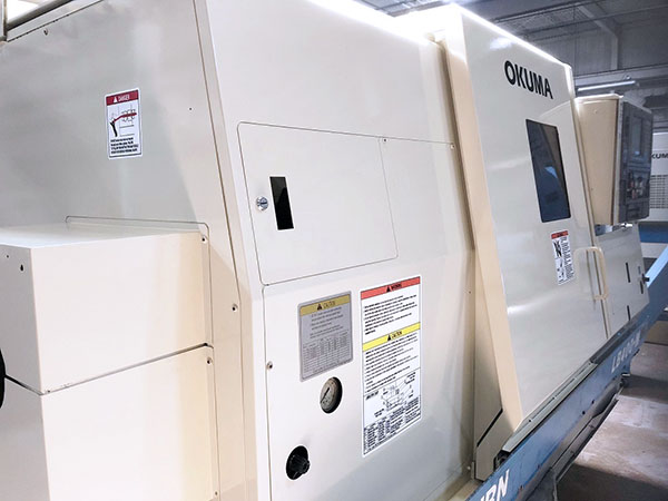 Used CNC Lathe Okuma Space Turn LB400-M 2000