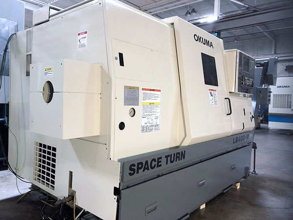 Okuma Space Turn LB400-M 2000 2
