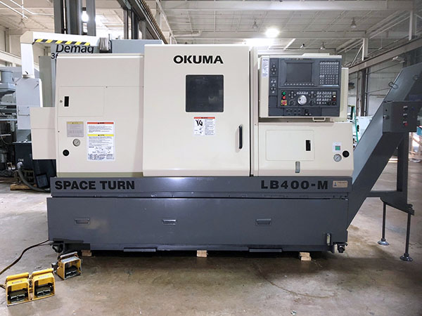 Okuma Space Turn LB400-M 2000 1