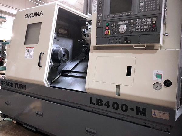 Okuma Space Turn LB400-M 2000 9