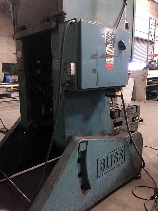 Used OBI Press Bliss C110 1984