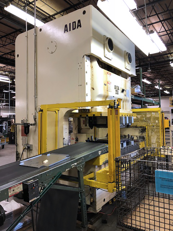Used OBI Press Aida NC2-200(2) 1986