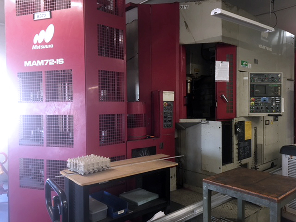 Used Vertical Machining Center Matsuura MAM72 1994