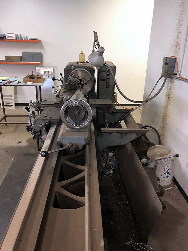 Used CNC Lathe Hes HN500 1966