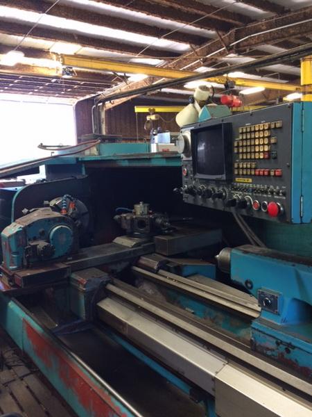 Used CNC Lathe Mazak M-4 1981