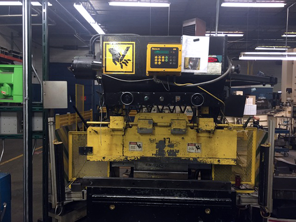Used Hydraulic Press Brake Wysong H-2052 1995