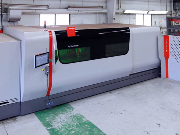 Used Laser Cutting Machine Bystronic ByStar 3015 2016