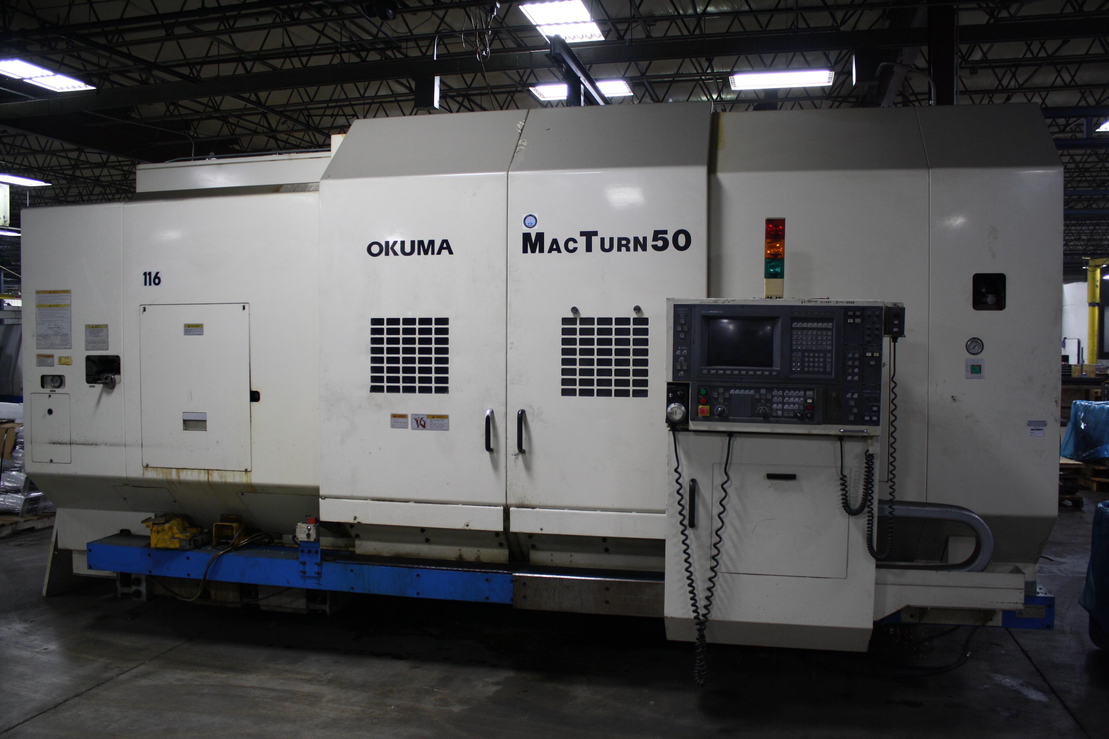 Used CNC Lathe Okuma Macturn 50 1999