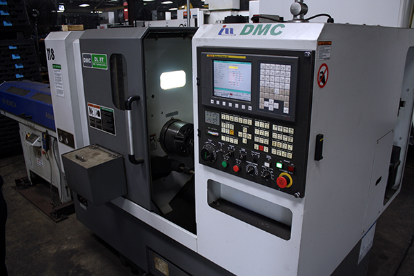 Used CNC Lathe DMC DL 8T 2012