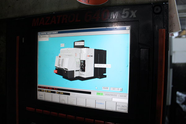 Used 5 Axis Machining Center Mazak Variaxis 730 2004