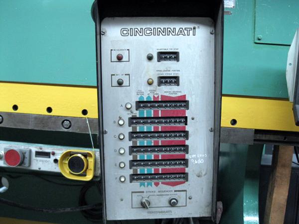 Used Cincinnati Hydraulic Press Brake 90AF6 For Sale
