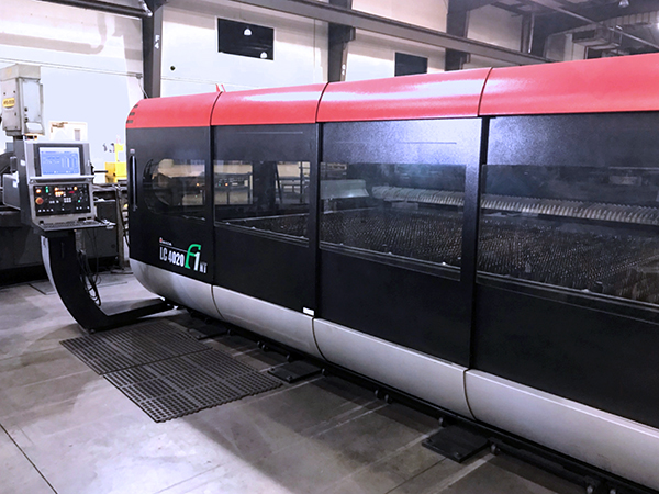 Used Laser Cutting Machine Amada LC 4020 F1 NT 2009