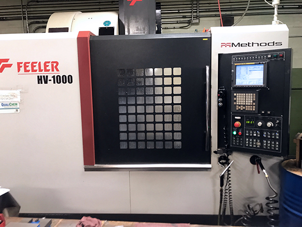 Used Vertical Machining Center Feeler HV-1000 CNC 2011