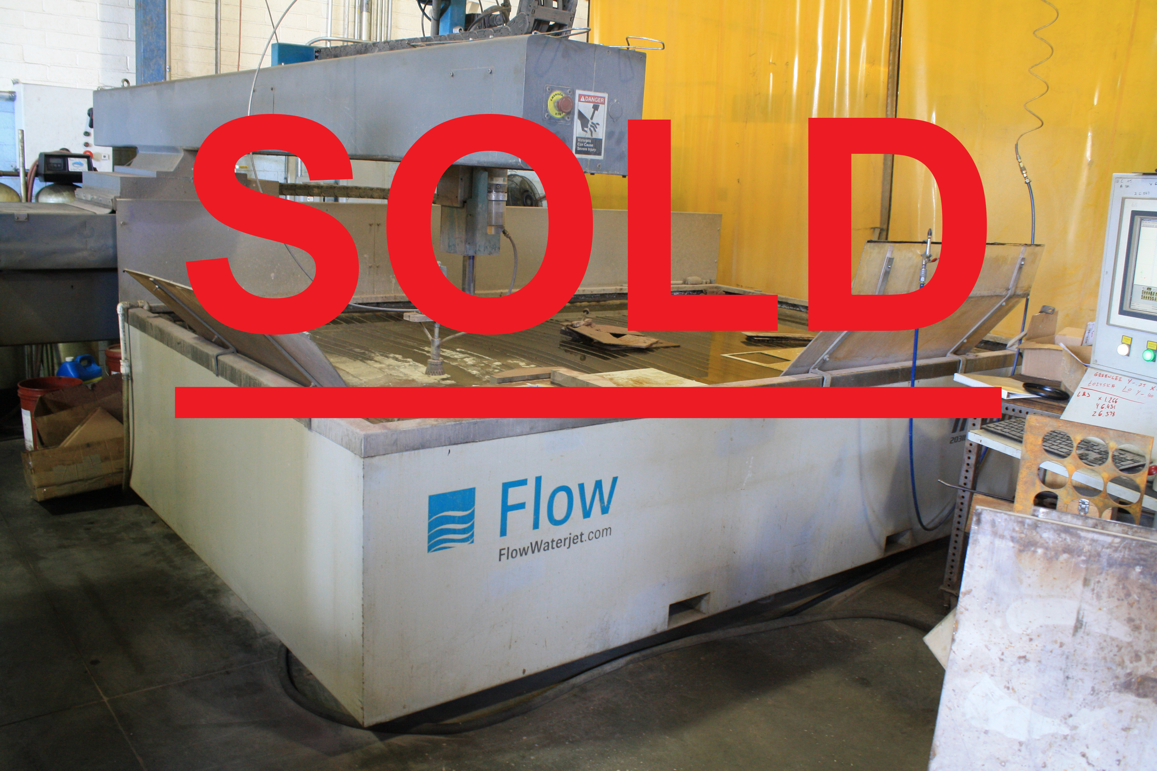 Used Flow Water Jet Mach 2 For Sale