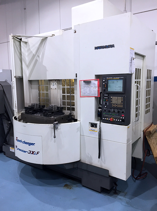 Used Vertical Machining Center For Sale Kitamura 3XiF Sparkchanger 2007 1