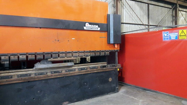 Used Hydraulic Press Brake Amada HFBO220-40 1995