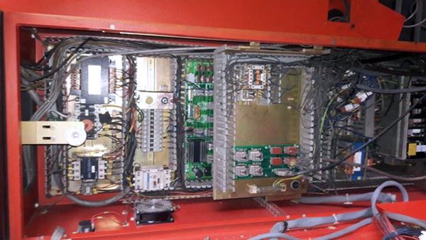 Used Hydraulic Press Brake Amada HFBO220-40 1995