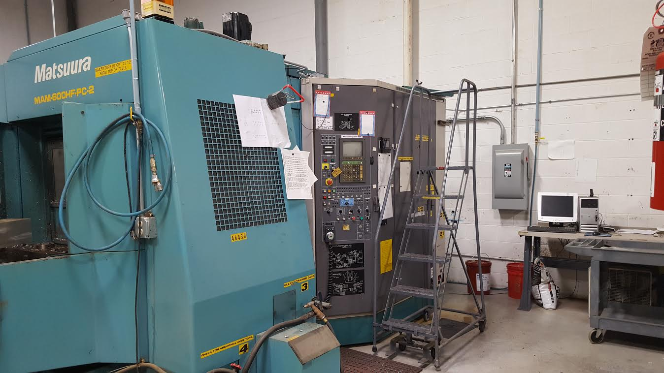 Used Horizontal Machining Center Matsuura MAM-600HF-PC-2 1993
