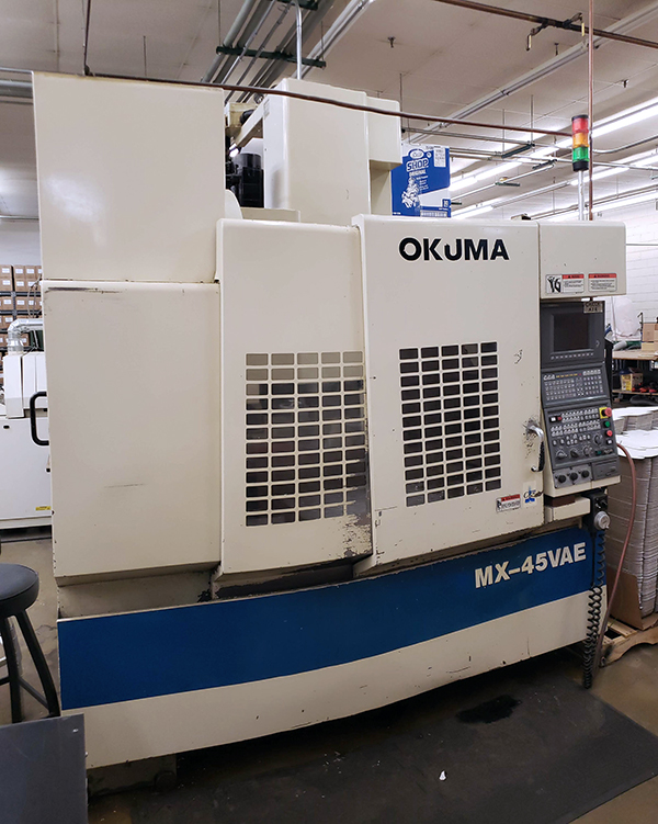 Used Vertical Machining Center Okuma MX-45VAE 1999