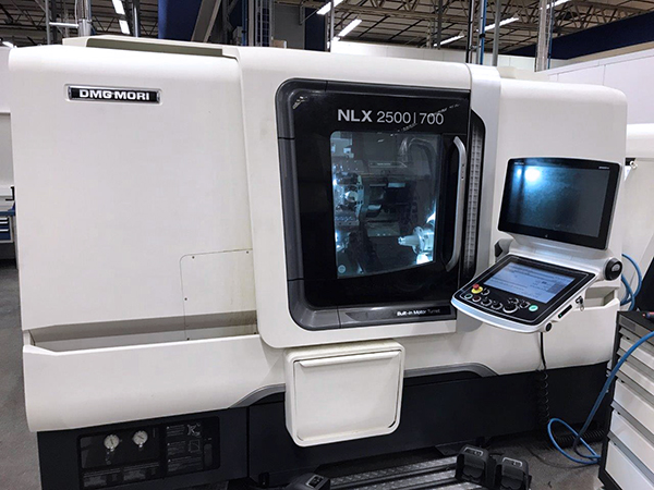 Used CNC Lathe For Sale DMG Mori NLX 2500SY/700 2017 1
