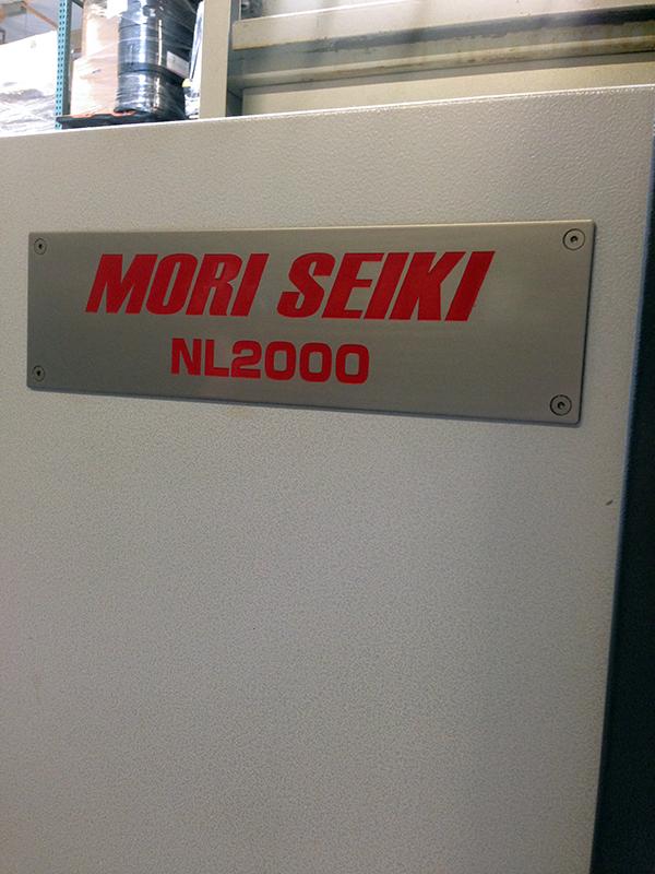 Mori Seiki NL2000SY 2007 6