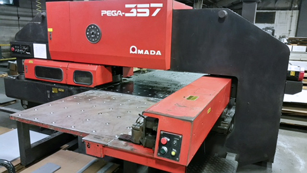 Used Turret Punch Amada Pega 357 1991