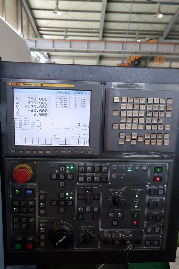 Doosan Puma MX3000 Multi-Tasking Machine 2008 7