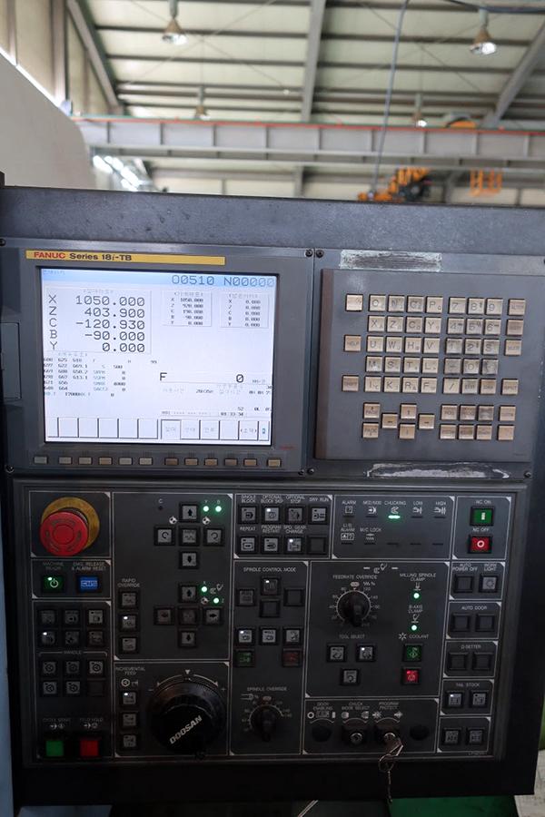 Doosan Puma MX3000 Multi-Tasking Machine 2008 7