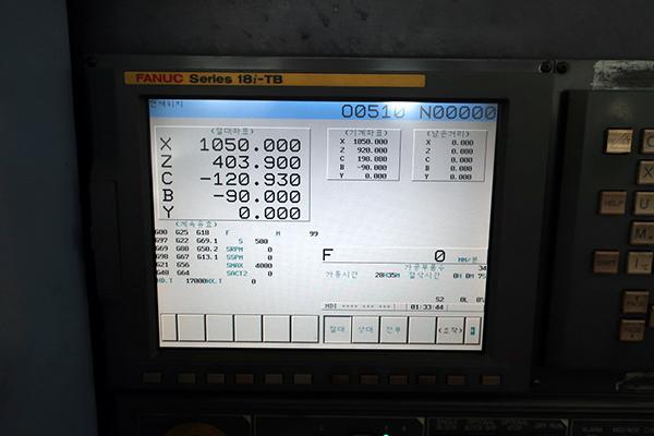 Doosan Puma MX3000 Multi-Tasking Machine 2008 8