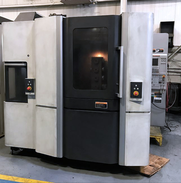 Used Horizontal Machining Center Mori Seiki NHX4000 2011