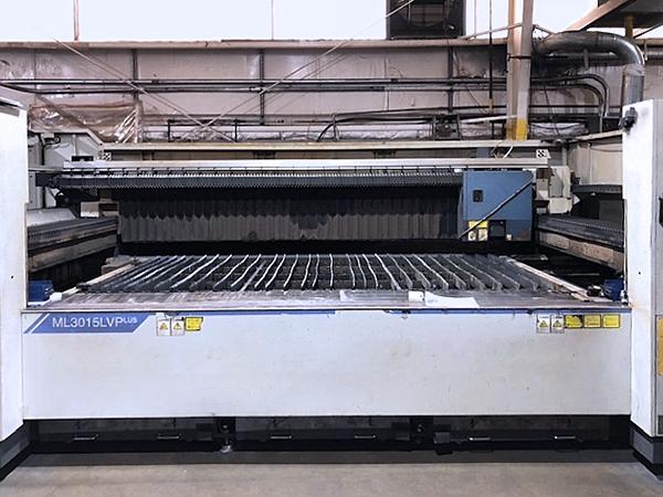 Used Laser Cutting Machine Mitsubishi ML3015 LVP (S) 2007