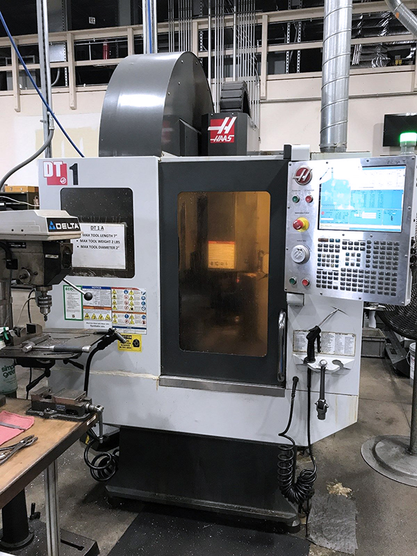Used Drill and Tap Haas DT-1 2011