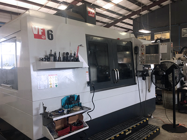 Used Vertical Machining Center For Sale Haas VF-6/40 2017 7_Vertical Machining Center