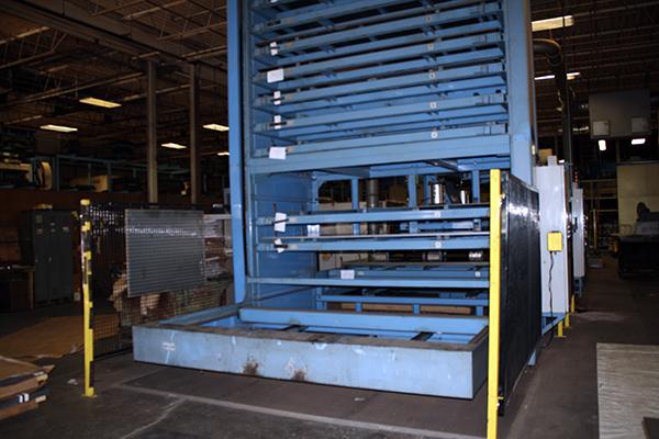 Mazak FMS-A 510 Flexible Material Storage System 1997 8