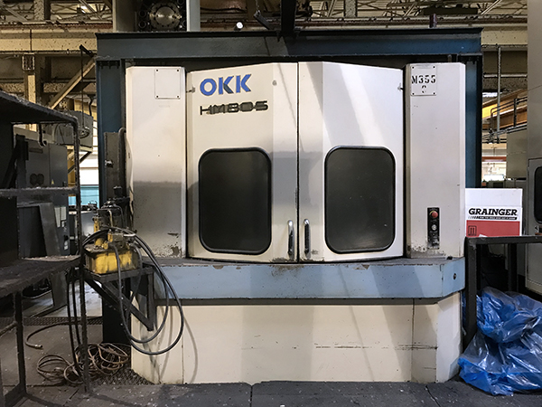 Used Horizontal Machining Center OKK HM80S 1999
