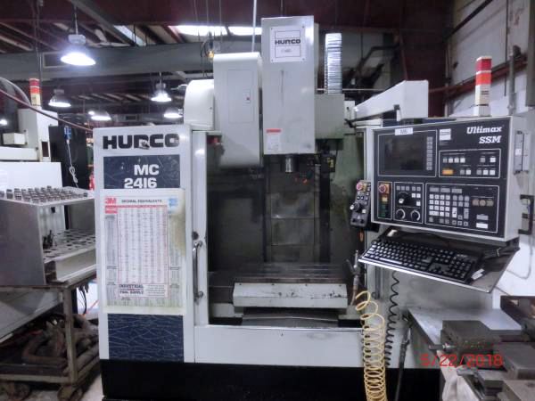 Used Vertical Machining Center Hurco BMC 2416 2000